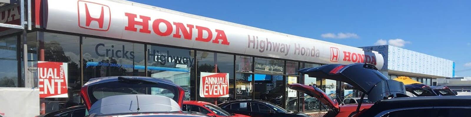 Cricks Highway Honda