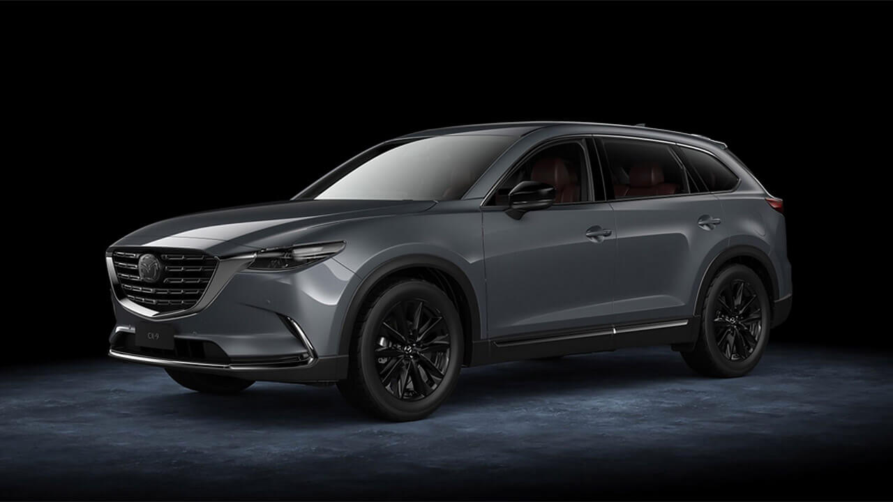 CX-9 SOPHISTICATION MEETS PERFORMANCE - WELCOME TO MAZDA CX-9 GT SP
