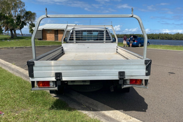 2015 Mazda BT-50 UP0YD1 XT Cab chassis Image 4