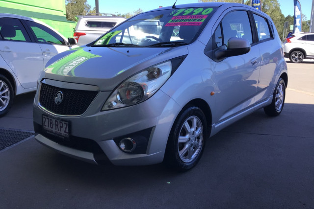 2011 Holden Barina Spark MJ  CD Hatchback Image 3