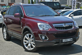 Holden Captiva 5 AWD CG Series II MY12