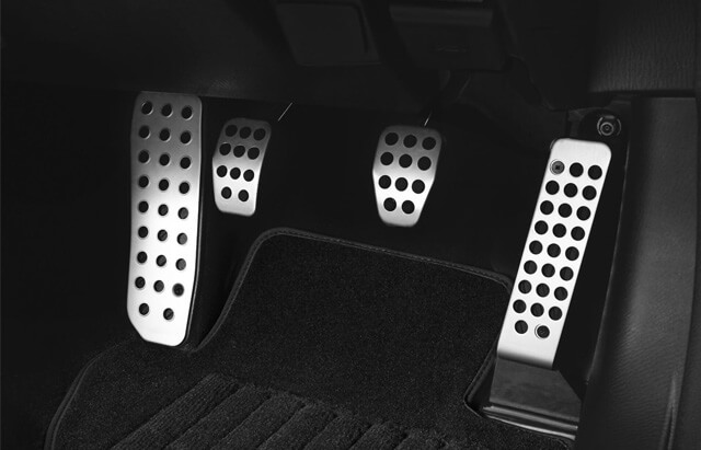 Manual Alloy Pedal Covers