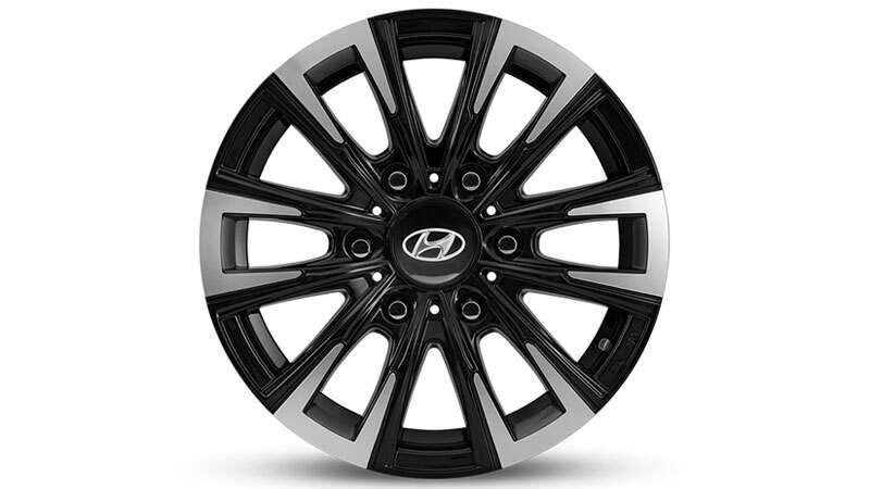 16 inch Iksan Gloss Black and Silver Alloy Wheel.