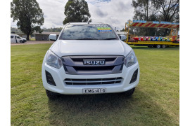 2017 Isuzu UTE D-MAX 4x2 SX Crew Cab Chassis High-Ride Cab chassis Image 2