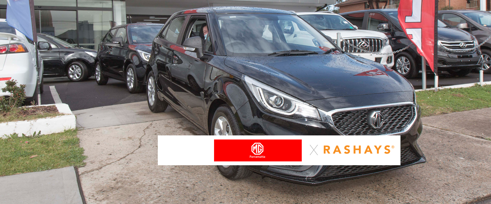 MG Parramatta Delivered 19 MG 3 Auto Fleet Cars To Rashays Australia