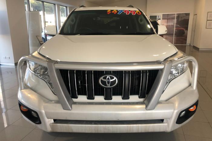 2017 Toyota Landcruiser Prado GDJ150R GXL Suv