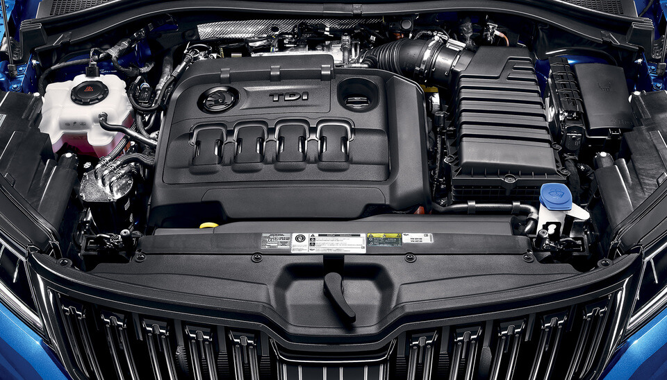 Kodiaq BI-TURBO ENGINE