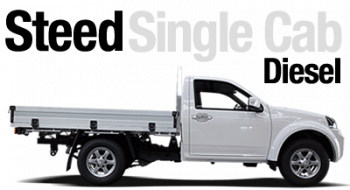 New Great Wall Steed Single Cab Diesel
