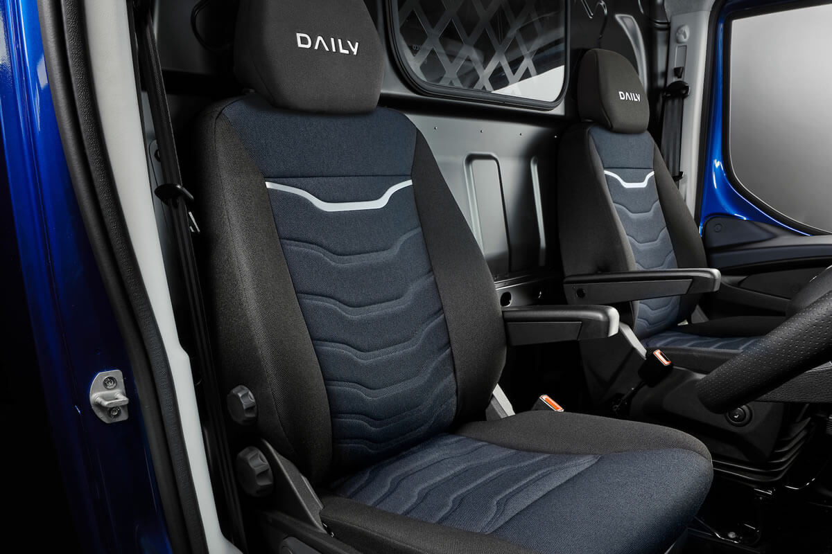 Daily E6 Cab Chassis COMFORT AND ERGONOMICS