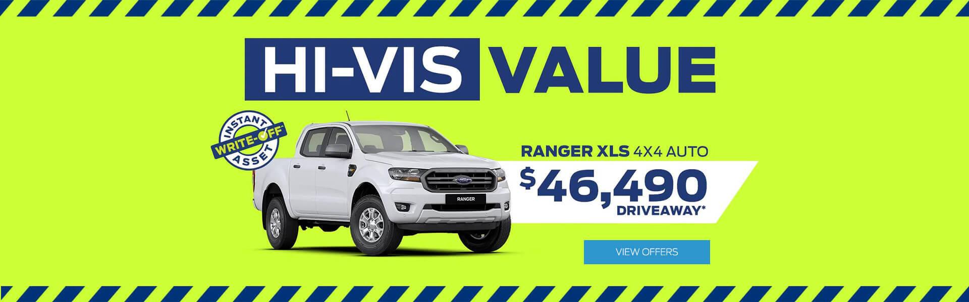 Hi-Vis Value Ranger XLS 4x4 AUTO