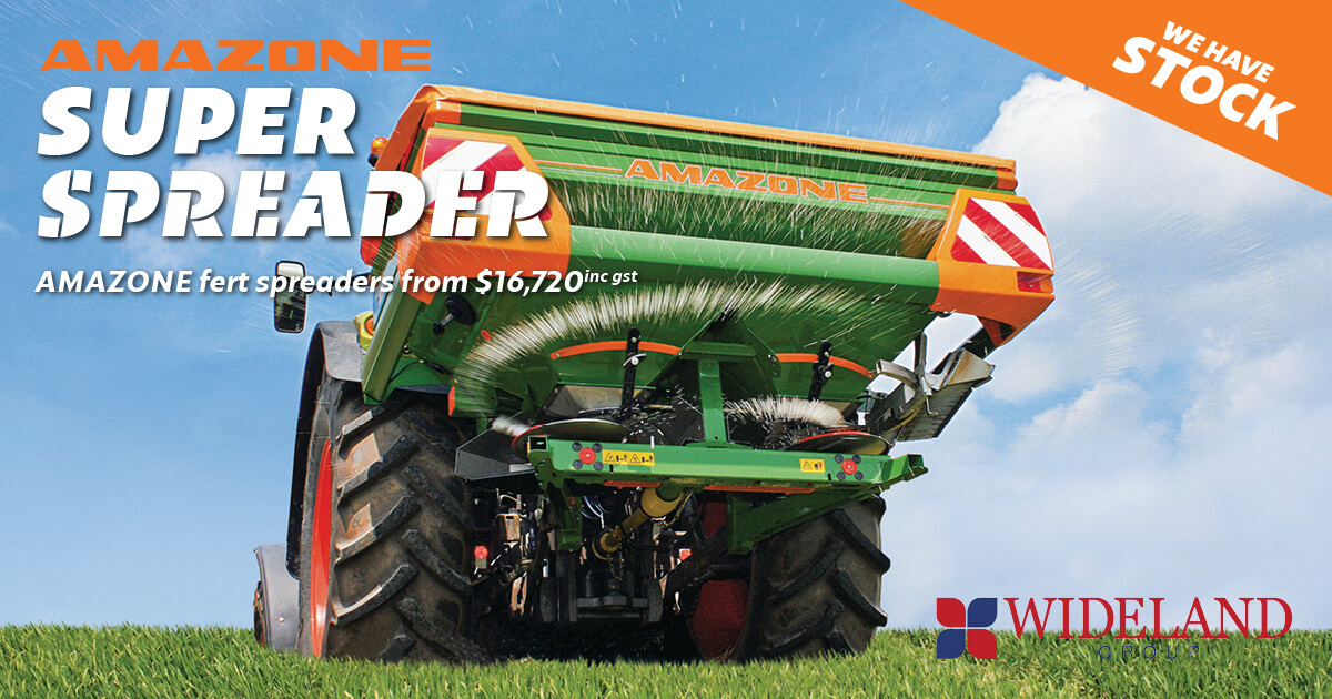 Amazone Spreader Sale! From $16,720