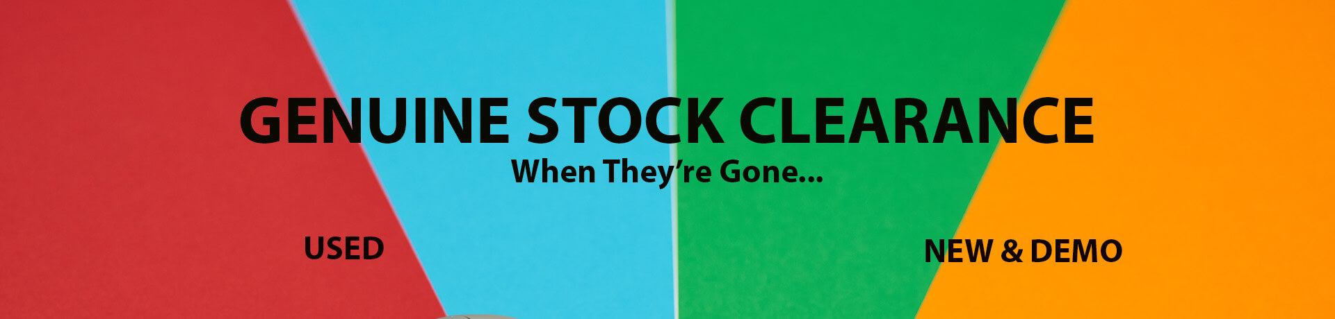 Genuine Stock Clearance