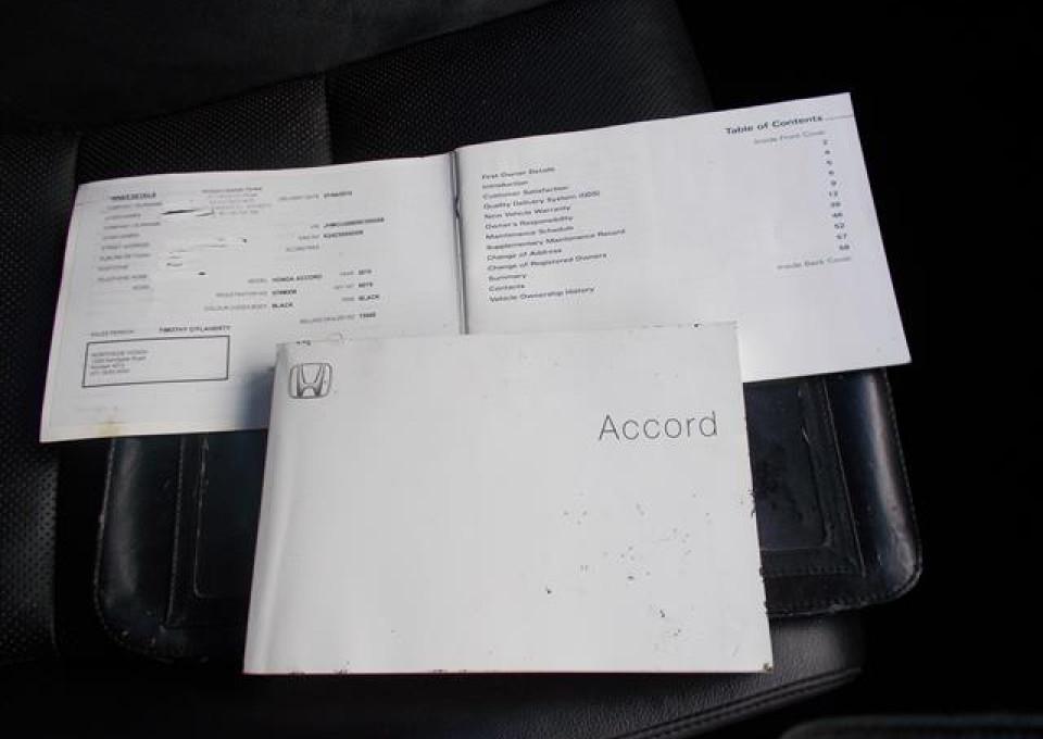 2010 Honda Accord Euro CU  Luxury Sedan