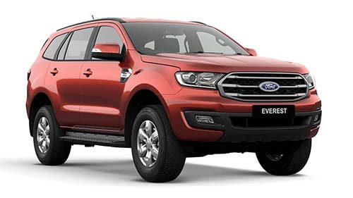 2018 MY19 Ford Everest UA Ambiente 4WD Wagon