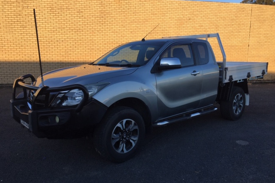 2015 Mazda BT-50 UP0YF1 XTR Cab chassis