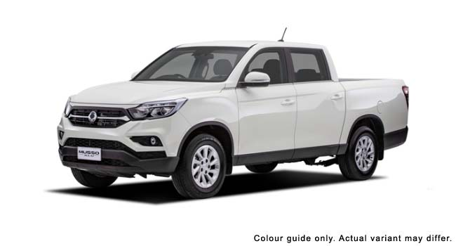 2021 MY20 SsangYong Musso XLV Q201 Ultimate Double cab