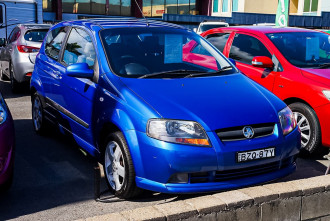 2007 Holden Barina TK MY07 Hatchback
