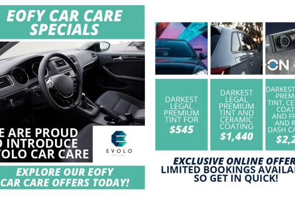 EVOLO EOFY Car Care Offers