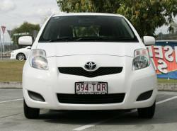 2010 Toyota Yaris NCP90R MY10 YR Hatchback