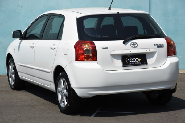 2006 Toyota Corolla ZZE122R 5Y Conquest Hatchback Image 3