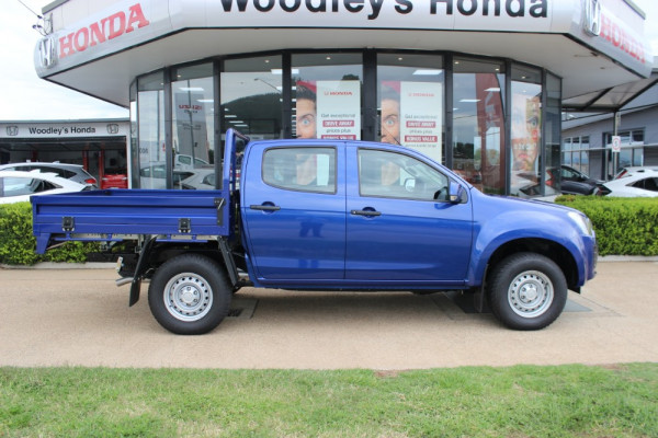 2019 Isuzu UTE D-MAX SX Crew Cab Chassis 4x4 Double cab/chassis Image 4