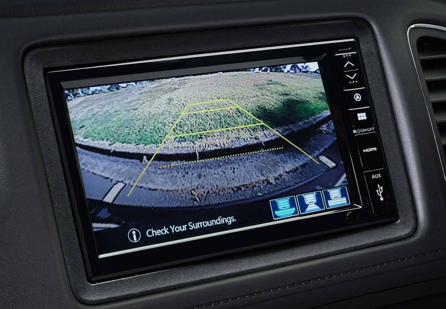 New HR-V Multi-Angle Reversing Camera