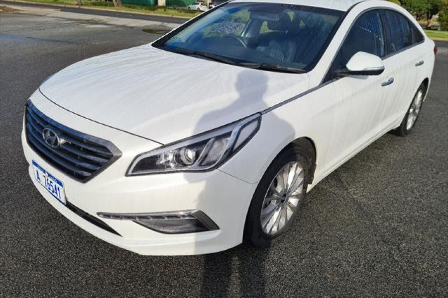 2015 MY16 Hyundai Sonata (lf) LF  Elite Sedan