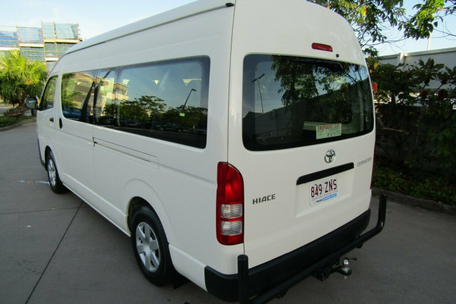 2018 Toyota HiAce KDH223R Commuter High Roof Super LWB Bus Image 5