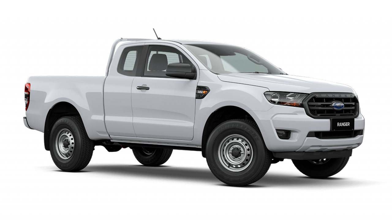 2020 MY21.25 Ford Ranger PX MkIII XL Super Cab Cab chassis Image 2