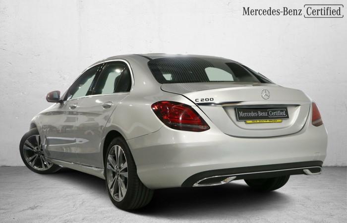 2020 MY50 Mercedes-Benz C-class W205 800+050MY C200 Sedan Image 20