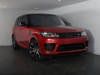 Land Rover Range Rover Sport V8 Sc Hse Dynamic(386kw) Range Rover Range Rover Sport V8 Sc Hse Dynamic(386kw) Auto