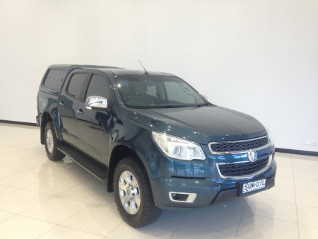 2016 Holden Colorado RG Turbo LTZ 4x4 d/cb canopy