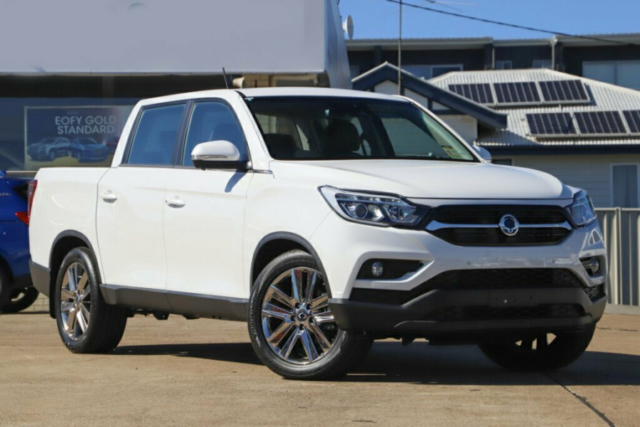 2019 MY20 SsangYong Musso Q201 MY20 Ultimate Crew Cab XLV Utility