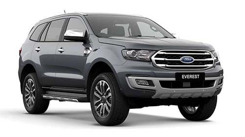 2018 MY19 Ford Everest UA Titanium 4WD Suv
