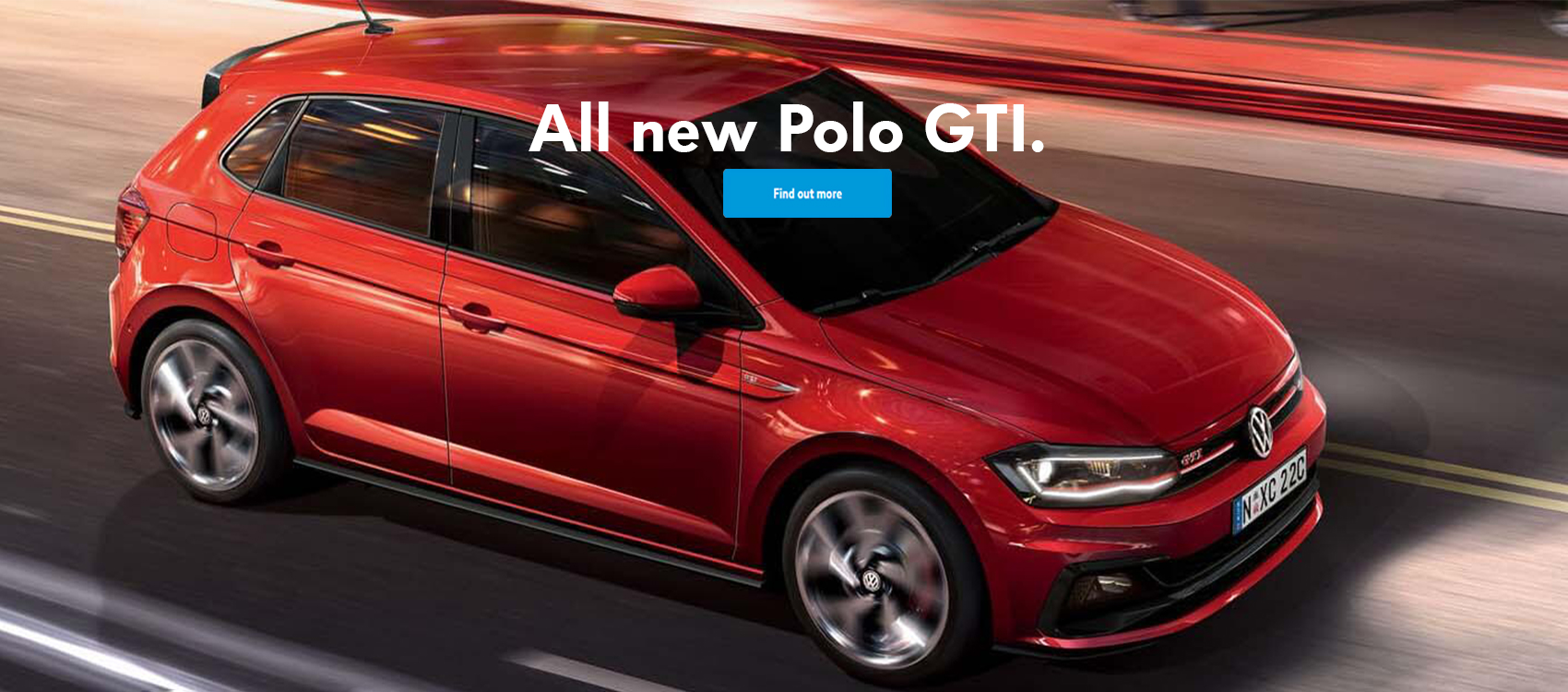 All new polo gti at austral volkswagen