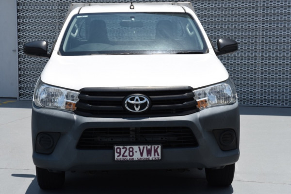 2015 Toyota HiLux TGN121R Workmate Image 2
