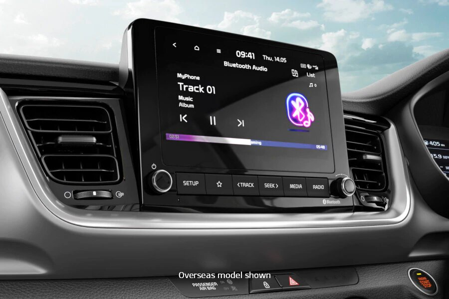 Stonic 8-inch Touch screen with Bluetooth multi-connection