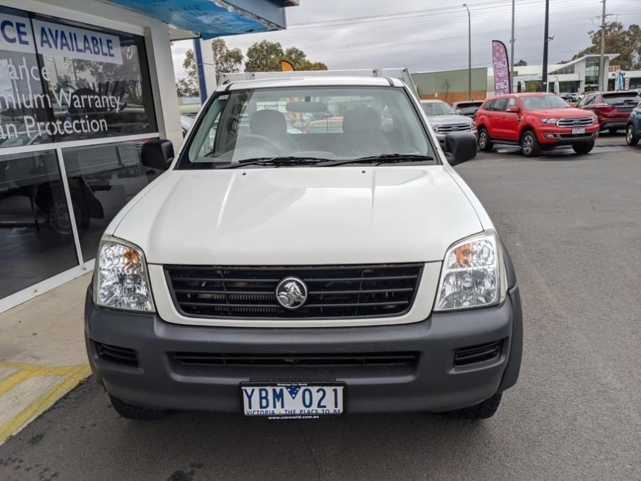 2005 Holden Rodeo RA MY05 LX Cab chassis