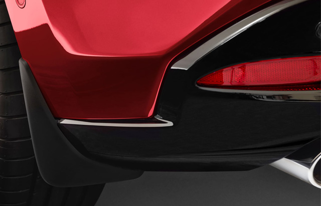 REAR MUD GUARDS - HATCH