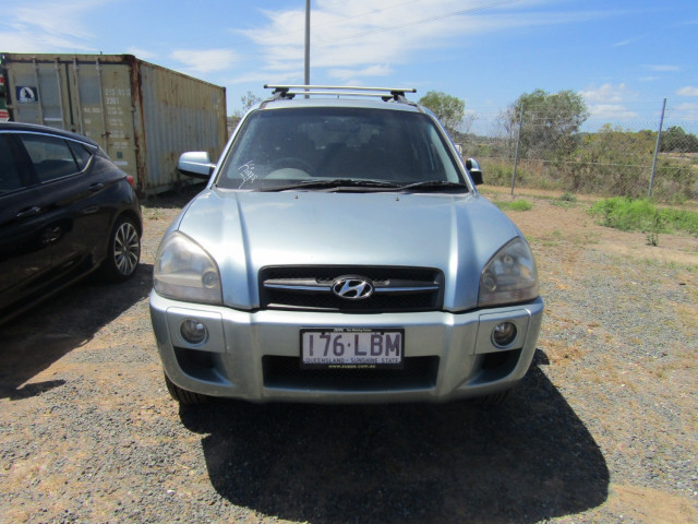 2008 MY07 Hyundai Tucson JM MY07 CITY Suv