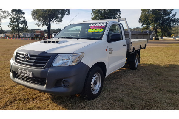 2014 Toyota HiLux KUN16R Turbo Workmate Cab chassis Image 3