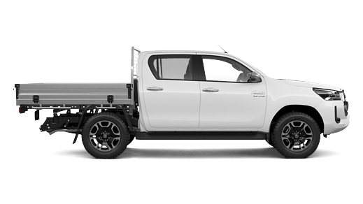 SR5 4x4 Double-Cab Cab-Chassis