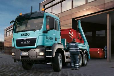 New MAN TGS 6x6