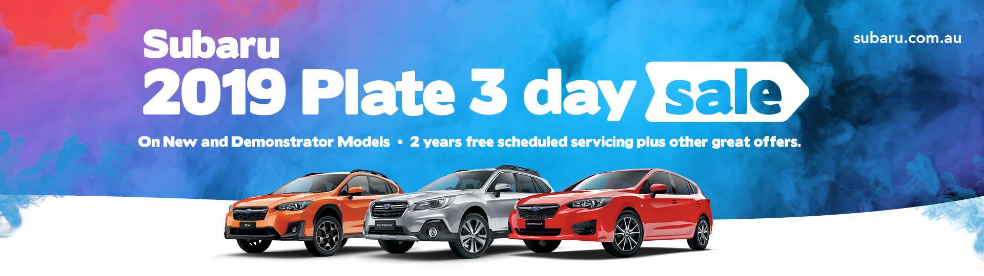Subaru 3 day sale event