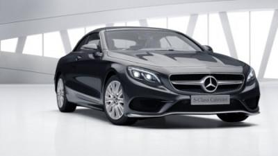 New Mercedes-Benz S-Class Cabriolet