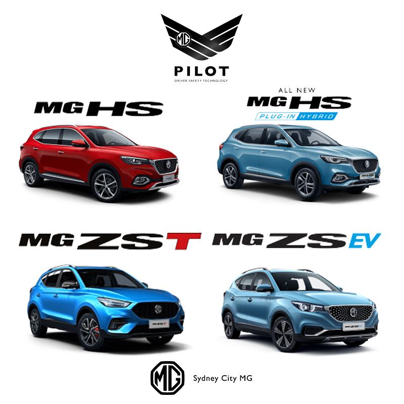 MG Car Models with MG Pilot