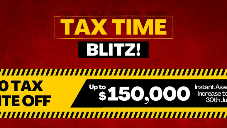 $150k Instant Tax Write Off & 50% Instant Depreciation Deduction