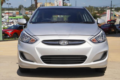 2017 Hyundai Accent RB4 MY17 Active Hatchback