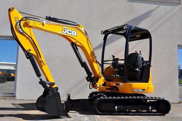 2021 JCB 8035 ZTS Mini Excavator (No Series) 8035 ZTS Mini Excavator Image 3