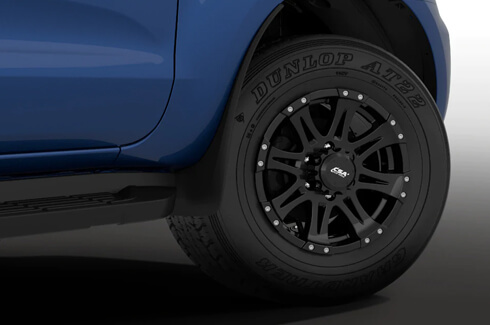 "<img src=""Alloy Wheels - Raptor Style 17X8 45+ Offset"